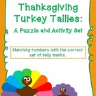 Thanksgiving Turkey Tallies: A Puzzle and Activity Set--B&