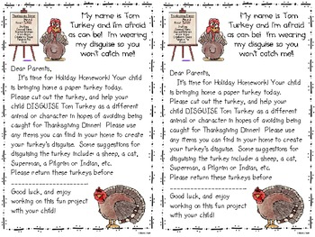 "Thanksgiving ""Turkey Trouble"""