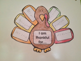 Thanksgiving Turkey - Writing Activity