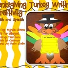 Thanksgiving Turkey Writing Craftivity (English & Spanish)