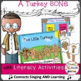 Thanksgiving Turkeys! Five Little Turkeys - Shared Reading