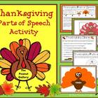 Thanksgiving Turkeys (Parts of Speech Activity)