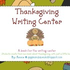 Thanksgiving Writing Center: All the tools for independence!