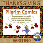 Thanksgiving Writing Fun -  Pilgrim Comics
