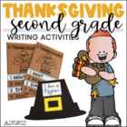 Thanksgiving Writing for Second Graders