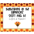 Thanksgiving at the Tappletons' Story Pack