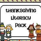 Thanksgiving bundle - literacy centers and writing packet