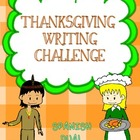 Thanksgiving writing challenge  {Spanish Dual Immersion}