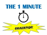 The 1 Minute Challenge!  Classroom Movement Break Activity