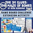 The 39 Clues Maze of Bones Board Game Activity for Students