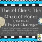 """The 39 Clues: Maze of Bones"" (Book 1) Challenges"
