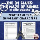 The 39 Clues: The Maze of Bones Character Profile and Key