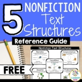 The 5 Non-Fiction Text Structures - A Student Guide