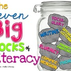 The 7 Big Rocks of Literacy Posters - ELA Essentials All K