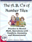 A, B, C's of Number Tiles: 26 Problem Solving Math Puzzles