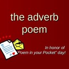 The Adverb Poem: a fun writing & grammar activity