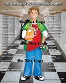 The Anatomy of a College-Ready Student 24x36 Poster: Caucasian