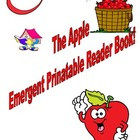The Apple Printable Emergent Reader