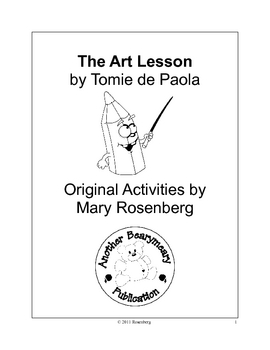 The Art Lesson by Tomie da Paola