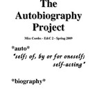 The Autobiography Project