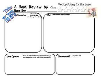 The BFG by Roald Dahl Book Project Book Review Activity Co