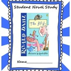 The BFG by Roald Dahl Novel Study Common Core