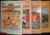 The Baby Sitters Club by Ann M. Martin: 4 Paperback Novels