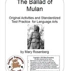 The Ballad of Mulan Original Activities and Standardized T