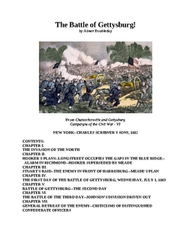 The Battle of Gettysburg!