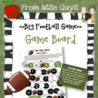 FREE The Big Football Game board activity