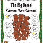 The Big Game! Football Themed Activity for CVC Words