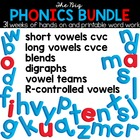 The Big Phonics Bundle - Spelling and Phonics Interactive