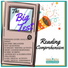 The Big Test by Julie Danneberg Comprehension Activities