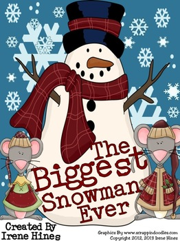 The Biggest Snowman Ever ~ A Winter Book Activity Unit