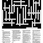 The Book Thief by Marcus Zusak - Crossword Puzzle