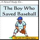 The Boy Who Saved Baseball, by John H Ritter: A Novel Study