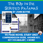 The Boy in the Striped Pajamas Reading Comprehension Guide