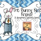 The Bunny Knows Homophone Review