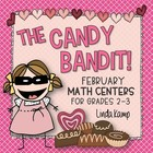 The Candy Bandit {Valentine Math Centers for Second and Th