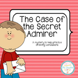 The Case of the Secret Admirer - an activity for drawing c
