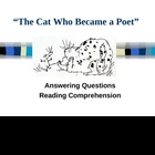 """The Cat Who Became a Poet"" - Open Court - Answering Questions"