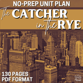 The Catcher in the Rye Literature Guide: CCS-Aligned Teach