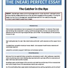 The Catcher in the Rye - Near Perfect Essay