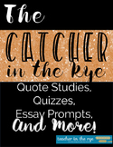 The Catcher in the Rye Quote Studies and Reading Quizzes {CCSS}