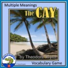 The Cay - Multiple Meaning Vocabulary Game