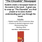 """The Chrysalids"" Newspaper Project"