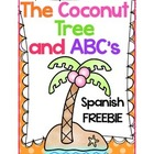 The Coconut Tree and ABC's - Spanish Freebie