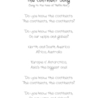 The Continent Song