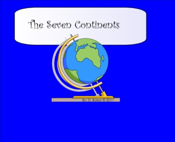 The Continents Smartboard Lesson Part One