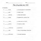 The Crucible Act III quiz (long version)